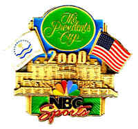 2000 THE PRESIDENTS CUP NBC SPORTS GUEST   PIN