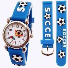 Children's, Niños, Chicos Chelsea, 3D fútbol, diseño de fútbol, deportes reloj
