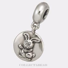 Authentic Pandora Sterling Silver Dangle Rabbit Chinese Zodiac Bead 790882