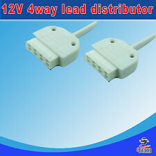 12v 4-way white supply Lead Distributor