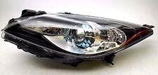 New OEM 2012-2013 Mazda 3 Left Xenon Headlamp Blue Projector Bezel Canada Only