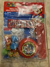Super Mario Mega Mix Value Pack Birthday Party Favor Pack 48 - New
