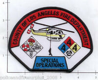 California - Los Angeles County CA Fire Dept Special Operations Fire Dept Patch