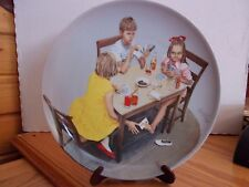 Spillefuglene~Kurt Ard~Bing & Grondahl Porcelain Plate