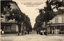 CPA  La Garenne - La Rue de l'Aigle-Prise du Rond-Pont du Centre (coté (581906)