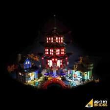 LIGHTING KIT (LEGO SET NOT INCLUDED) NINJAGO TEMPLE OF AIRJITZU 70751 BY LIGHT M