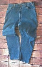 Vintage Men's LEVIS 540's Regular Fit Leather Patch Jeans Sz 40x32   #6