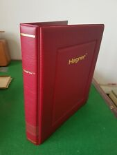 More details for hagner 4 ring binders in red with slip case