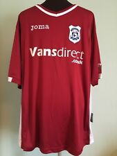 OFFICIAL JOMA CARDIFF CITY AWAY FOOTBALL SHIRT SIZE ADULT LARGE