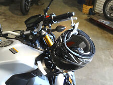 Lidlox Grip Tip Helmet Lock for Yamaha FZ09, Black.