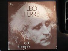 Leo Ferre – Col Tempo/Piccina 45 Giri in italiano 1972 Barclay – BRC NP 40038