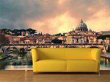 Sunset in Rome 3D Mural Photo Wallpaper Decor Large Paper Wall