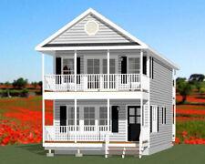18x40 House -- 3 bedroom 2 bath -- 1,292 sqft -- PDF Floor Plan -- Model 6C