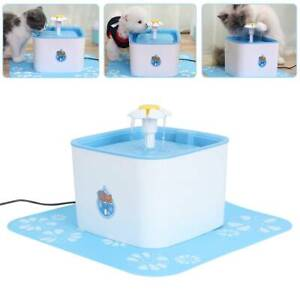 Wasserautomat / Trinkbrunnen / Wasserspender Haustierbrunnen für Katzen Hunde.