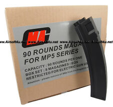 MAG Box of 8 Pieces Value Pack 90rds Magazine for MP5 Airsoft AEG