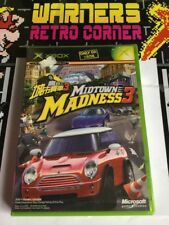Xbox Japan Import Midtown Madness New Sealed Retro Gaming Boxed Game