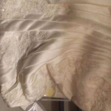 Portrait/Off-Shoulder Plus Size A-line Wedding Dresses