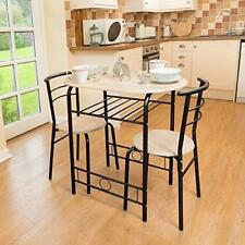 Black Washed Wood Modern Dining Table Chairs Small Oval Breakfast Kitchen Set
