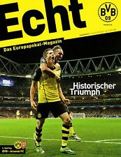 Programmheft # 11 - UEFA CL - BVB 09 / Arsenal London CF - Gameday Magazine