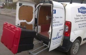 Bak-Rak Base-rak add-on Tumble mount to give space to open van doors