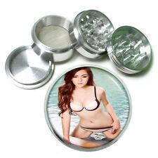 "Thai Pin Up D6 Aluminum Herb Grinder 2.5"" 63mm 4 Piece"