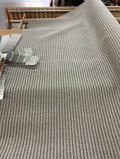 Railroaded Foreshore Granite Ticking Stripe Upholstery Fabric 54� By The Yard