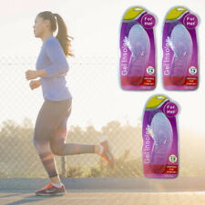 3 Pair Massaging Shoe Insole Orthotic Silicone Gel Comfort Support Run Pad Women
