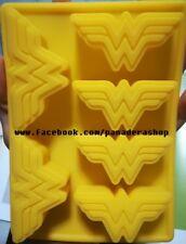 Wonder Woman Logo Ice Jelly Chocolate Fondant Soap Clay Silicone Mold Molder