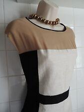 NEXT Vintage Style Années 1950 années 60 Look Onassis Bloc Couleur Ménagère Shift Bureau Robe