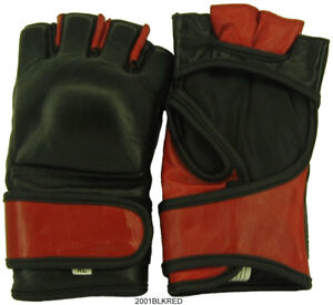 New, MMA Gloves In Leather, Fast Shipping.