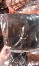 Borsello Piatto in CUOIO Tracolla verticale borsa Artigianale bag man 28x30 L7CM