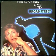 PAUL McCARTNEY - Give My Regards To Broad Street - SPAIN LP Emi 1984 - Beatles