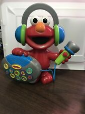 2004 Mattel Elmo's Greatest Hits Sing Along Boombox Toy
