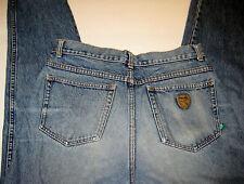 PUMA W31 x L28.5 Blue Straight Leg, Button Fly Jeans
