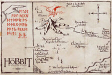 The Hobbit: Desolation Of Smaug - Map POSTER 61x91cm