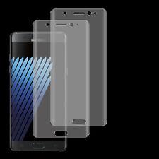 2 x 3D Full Curved TPU Panzerfolie Samsung Galaxy Note 7 Komplett Schutz Folie