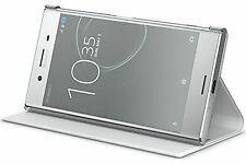 Official Sony SCSG10 White Style Stand Cover - Xperia™ XZ Premium