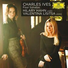 "HILARY HAHN  ""CHARLES IVES: VIER SONATEN""  CD NEU"