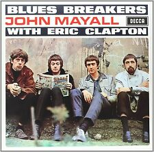 JOHN MAYALL WITH ERIC CLAPTON BLUES BREAKERS VINILE LP 180 GRAMMI NUOVO