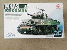 Heng Long R/C 1/16 Scale M4A3 Sherman Tank