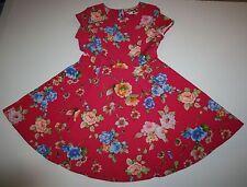NUEVO VERY GB Marca Rosa Lindo & Estampado Floral Fiesta Talla 10 Año
