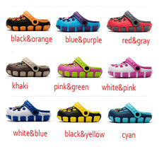 HOT Kids Baby Girls Boy Toddler Sandals Slippers Beach Clogs Pumps Cartoon Shoes