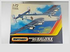 Matchbox Handley Page Halifax bomber model kit in 1/72 scale VINTAGE 1983