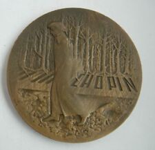 POLISH COMPOSER FREDERIC CHOPIN PIANIST MUSIC MEDAL 1978 year MARKED