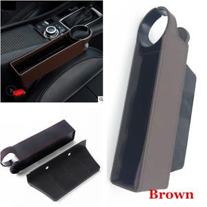 1x Car Interior Seat Seam Bag Storage Universal Organizer Phone Accessories Coin