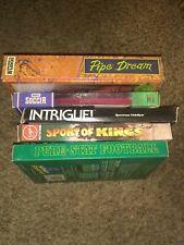 Commodore 64 Lot Of 5 rare Pipe Dream complete