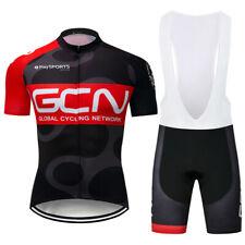 MTB Men's Cycling Jersey Bib Shorts Kits Short Sleeve Riding Shirt Shorts Set