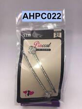 PINCCAT HAIR GEMS STONE BOBBY PINS 2 - COUNT CLIPS BARRETTES  # AHPC022