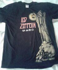 Led Zeppelin Zoso T Shirt Medium, Reaper Tee, One Sided, Rare, Gildan Tag