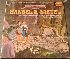 "Album By Walt Disney, """"The Story of Hansel & Gretel"" on Disneyland"